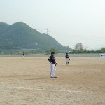 Playing Ball in Korea