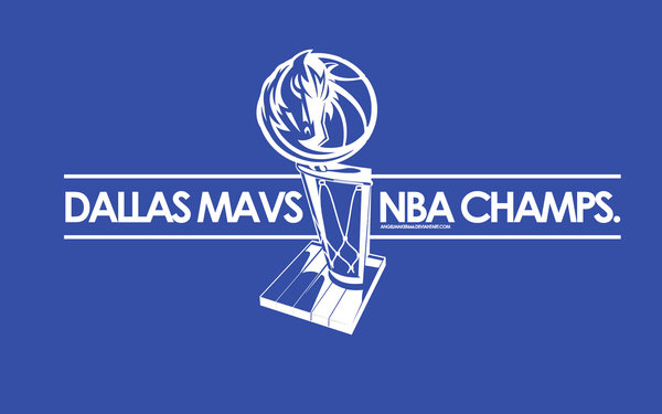 Congratulations – Dallas Mavericks NBA Champions