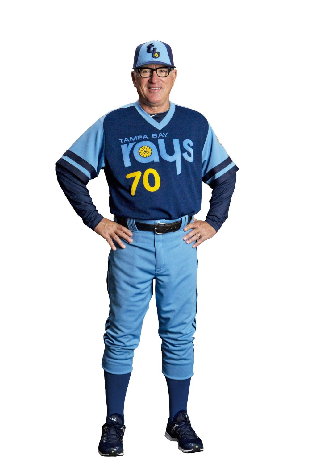 "Tampa Rays Unveil New ""Throwback"" Jersey"